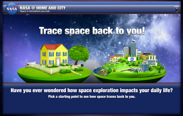 NASA Spinoffs Interactive Website