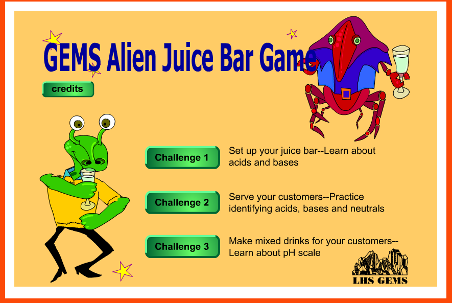 Alien Juice Bar Cabbage Juice And Ph Values Middle School