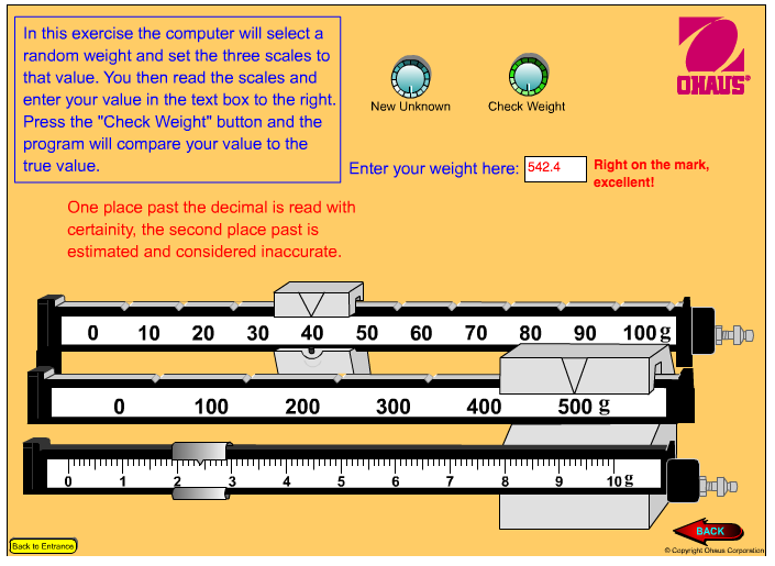 Reading a Triple Beam Balance Middle School Science Blog – Triple Beam Balance Practice Worksheet
