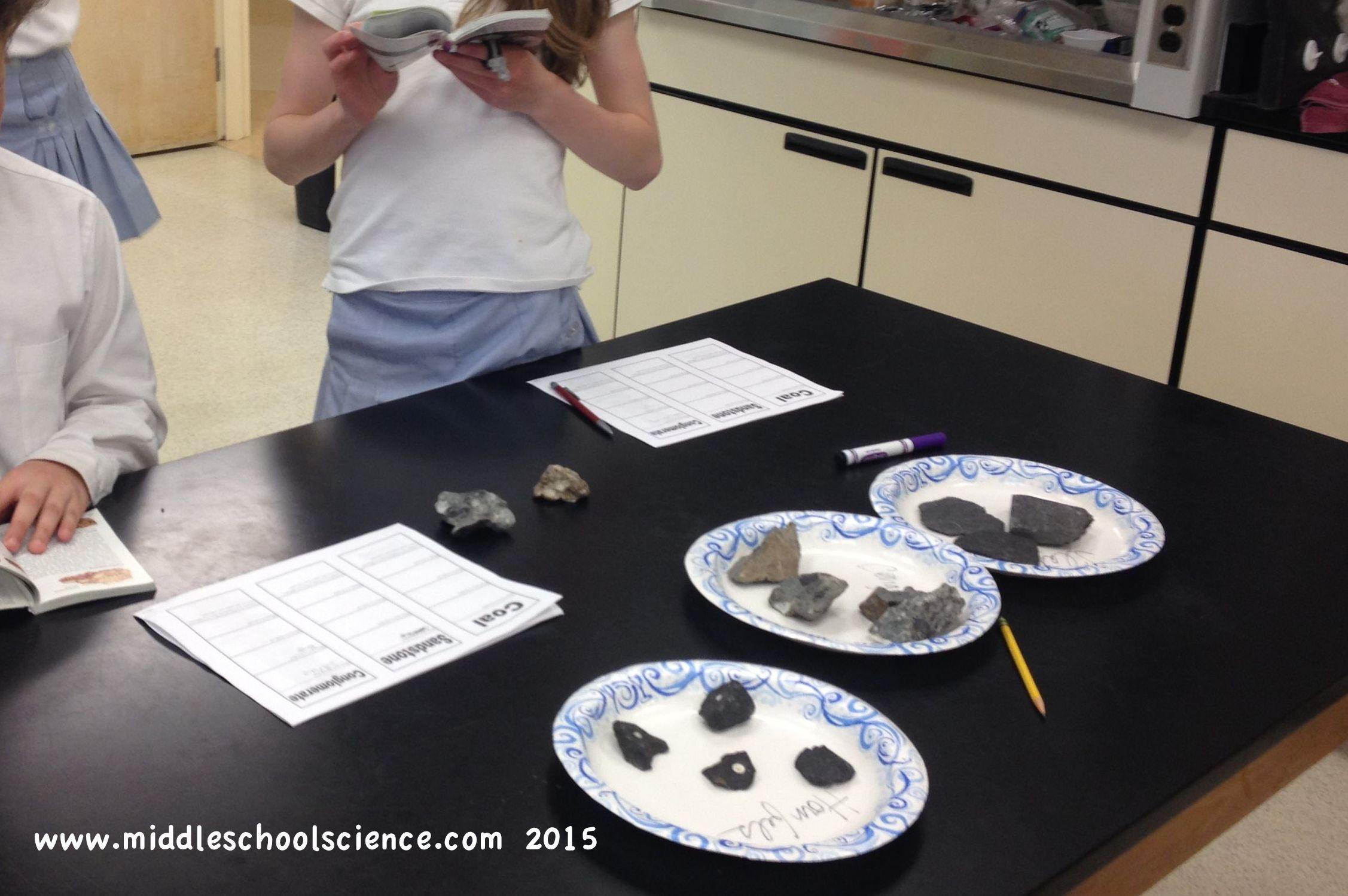 Rocks ROCK! Identification Stations – Middle School Science Blog