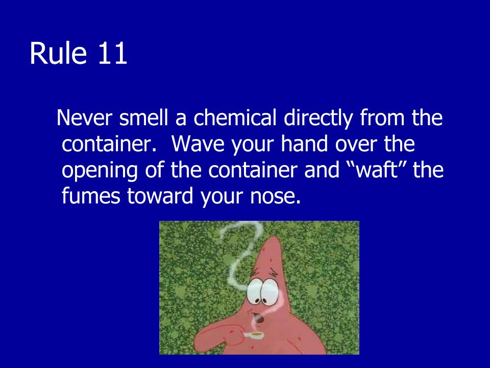 Spongebob Lab Safety Worksheet With Answer