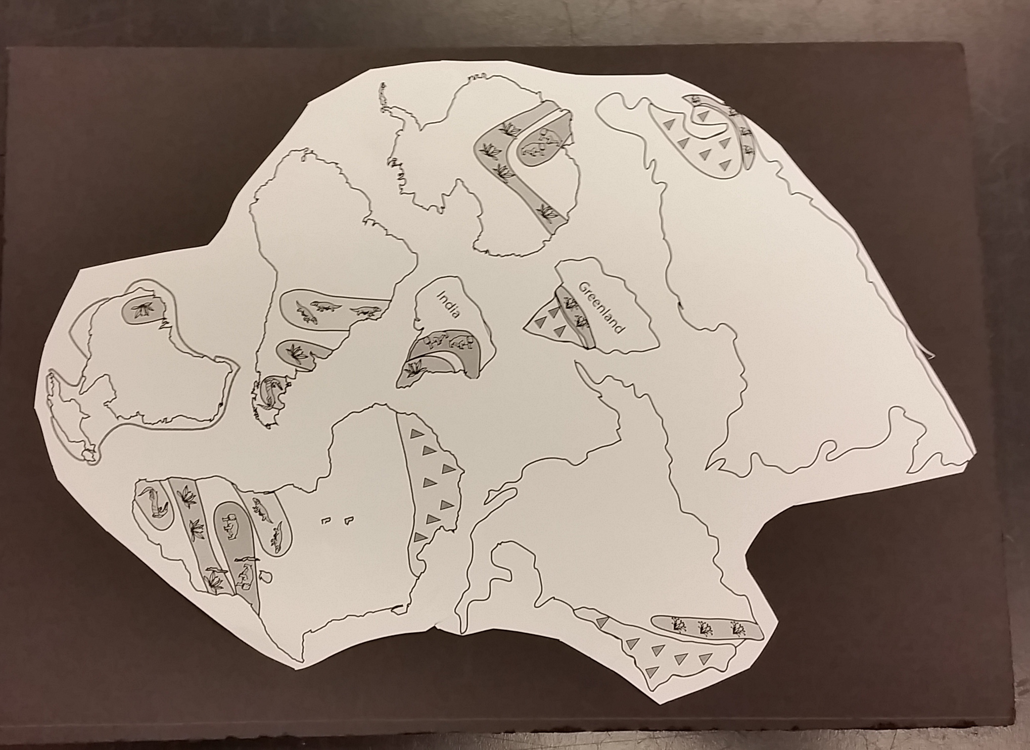 Worksheets Pangea Puzzle Worksheet pangea puzzle worksheet free worksheets library download and plate tectonics teaching materials grades 4 5