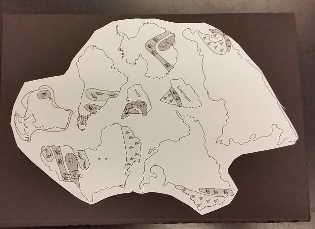 Pangea Puzzle Activity Middle School Science Blog – Pangaea Worksheet
