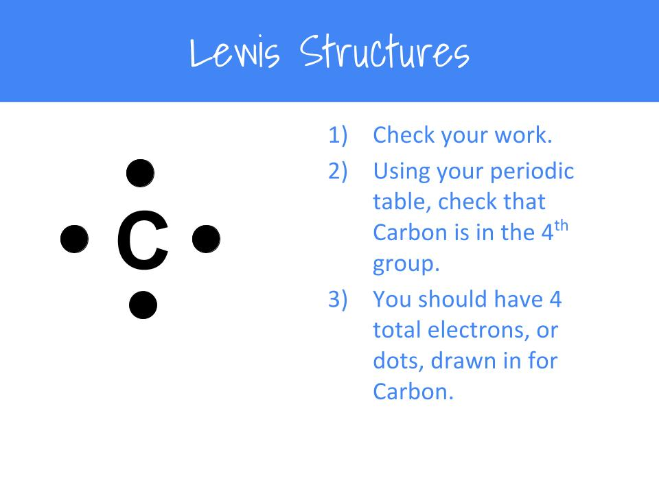 How To Draw Lewis Structures A Step By Step Tutorial Middle