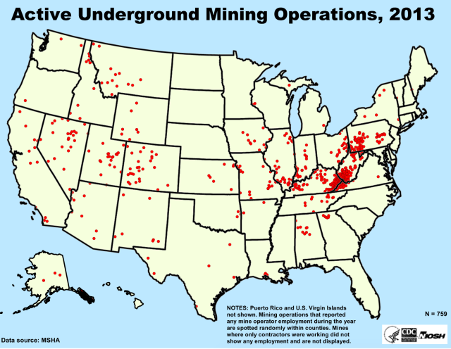 What Is Mining An Introduction To Mining Middle School Science Blog - Us mining map counties