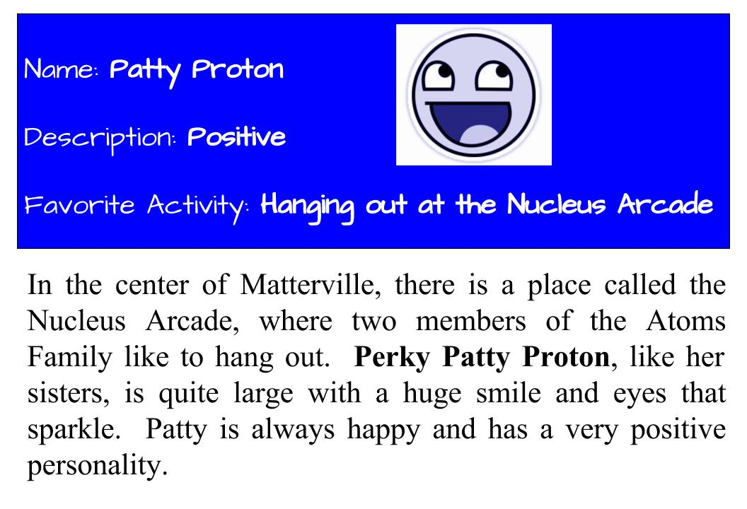 The Atoms Family Middle School Science Blog